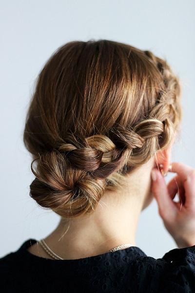 Chignon mariage tressé : 9 modèles de coiffure au top