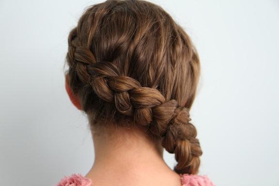 coiffure mariage katniss