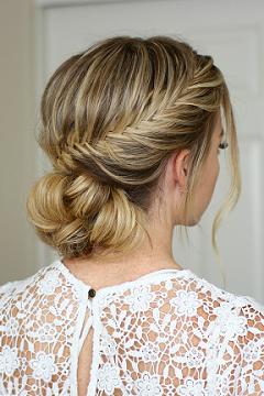 14 Coiffures De Mariage Pour Cheveux Longs