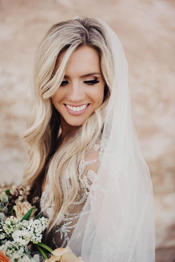 Coiffures de mariage tresse sans voile
