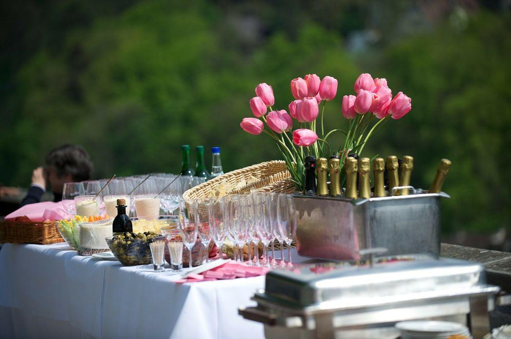 decoration reception-plein-air