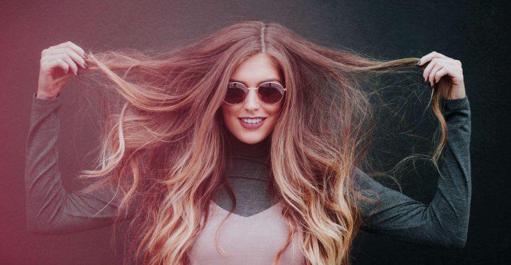 extension cheveux blond
