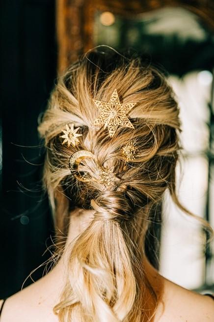 bijoux etoile pour cheveux