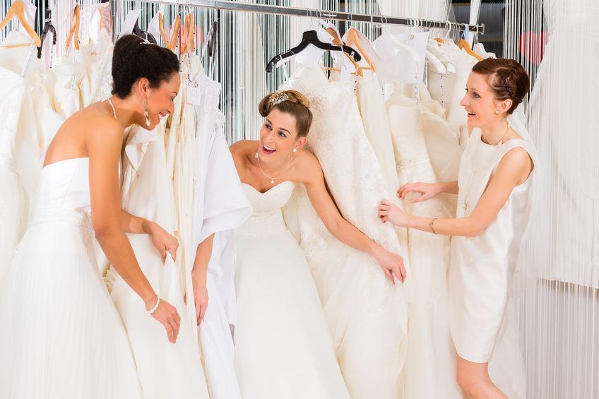 Essayage robe mariage